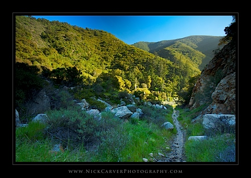 Trabuco Canyon Hiking Trail