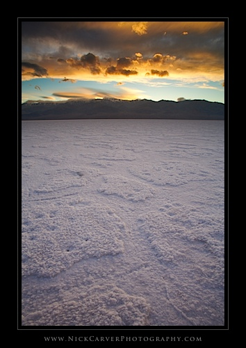 Badwater Basin in Death Valley National Park, CA