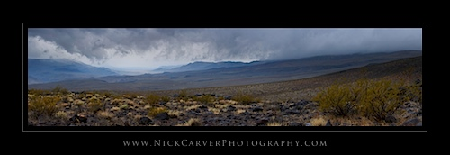 Storm in Death Valley National Park, CA