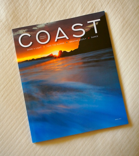 Coast Magazine Cover Image