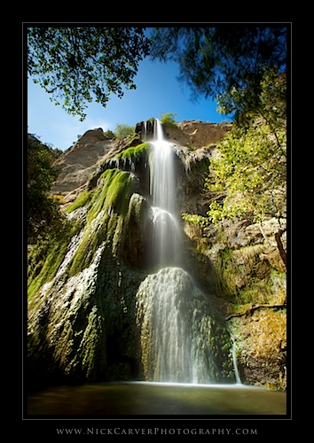 Upper Escondido Canyon Falls - Malibu, CA