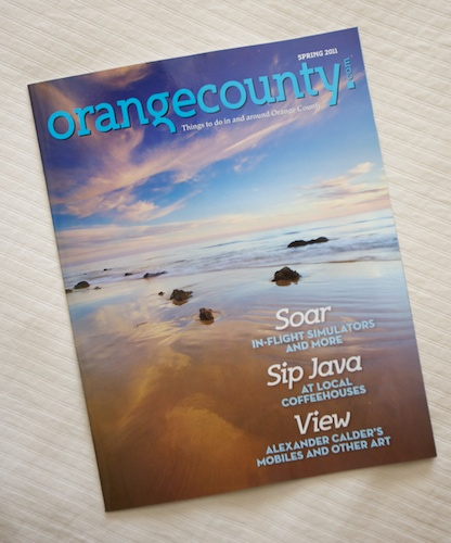 OrangeCounty.com Magazine Cover