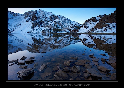 Ellery Lake at Sunrise