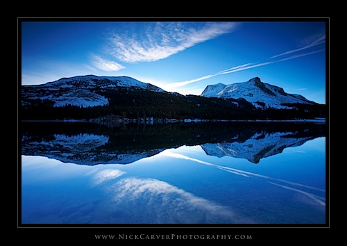 Morning at Tioga Lake (Color)