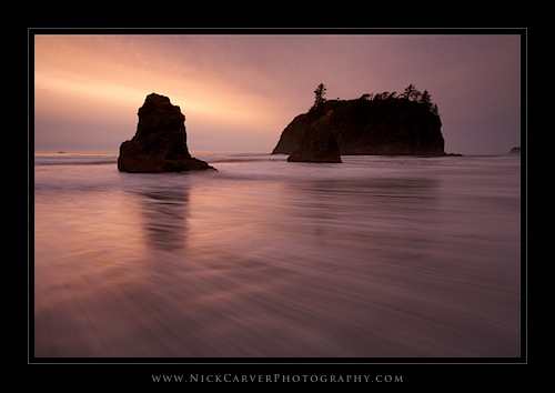 Ruby Beach in Olympic National Park, WA